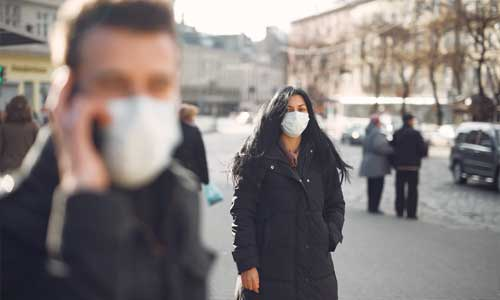 Pros and Cons in Education Online or Classroom Learning during a Pandemic face mask street - Pros and Cons in Education - Online or Classroom Learning during a Pandemic