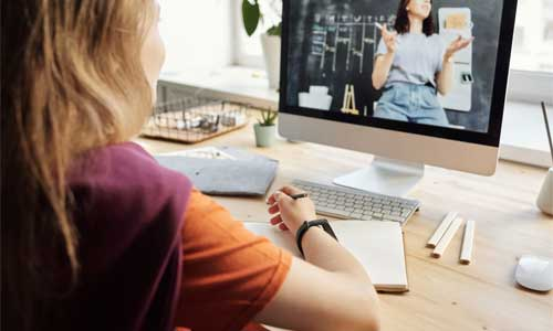 Pros and Cons in Education Online or Classroom Learning during a Pandemic video call - Pros and Cons in Education - Online or Classroom Learning during a Pandemic